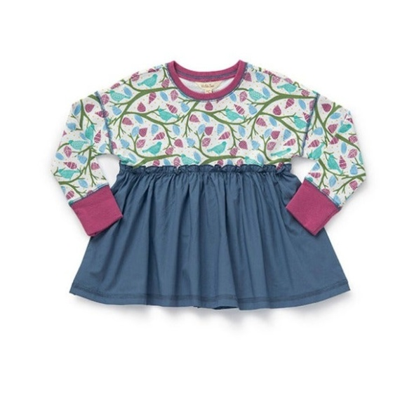 Matilda Jane Morning Sun Tunic Peasant Floral Top Once Upon A Time NWT sz 6 8 10